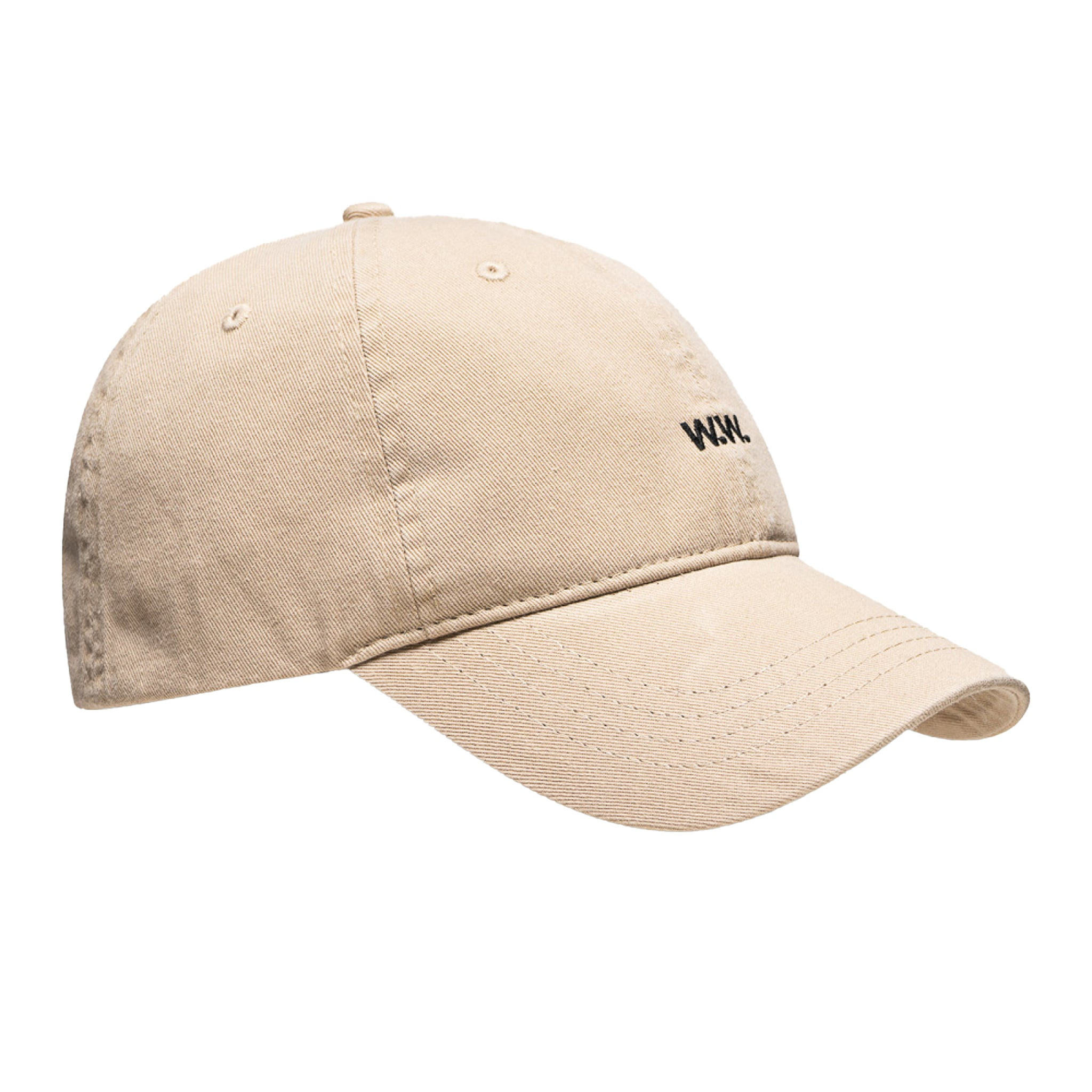Wood Wood Low Profile Cap Khaki