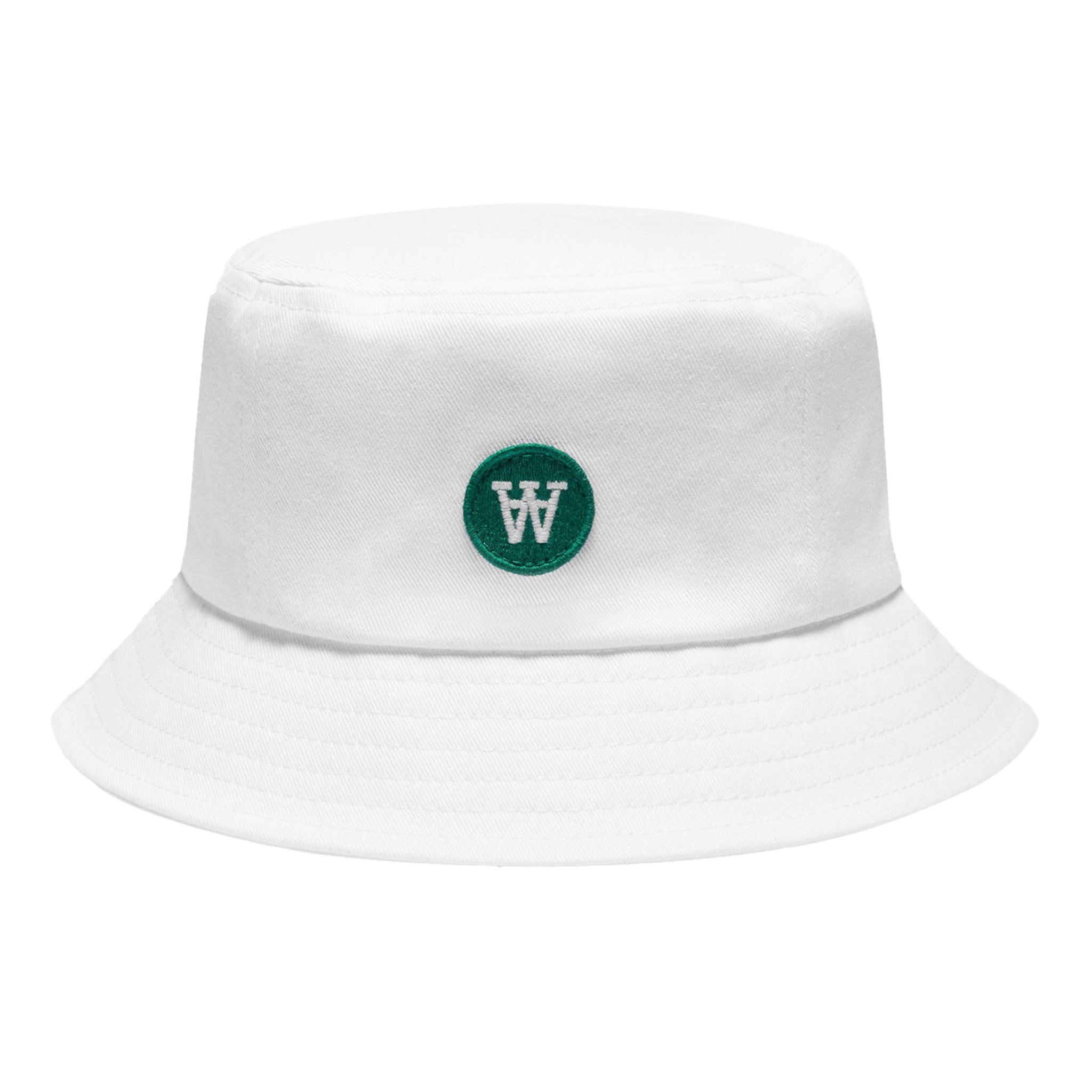 Wood Wood Val Kids Bucket Hat White
