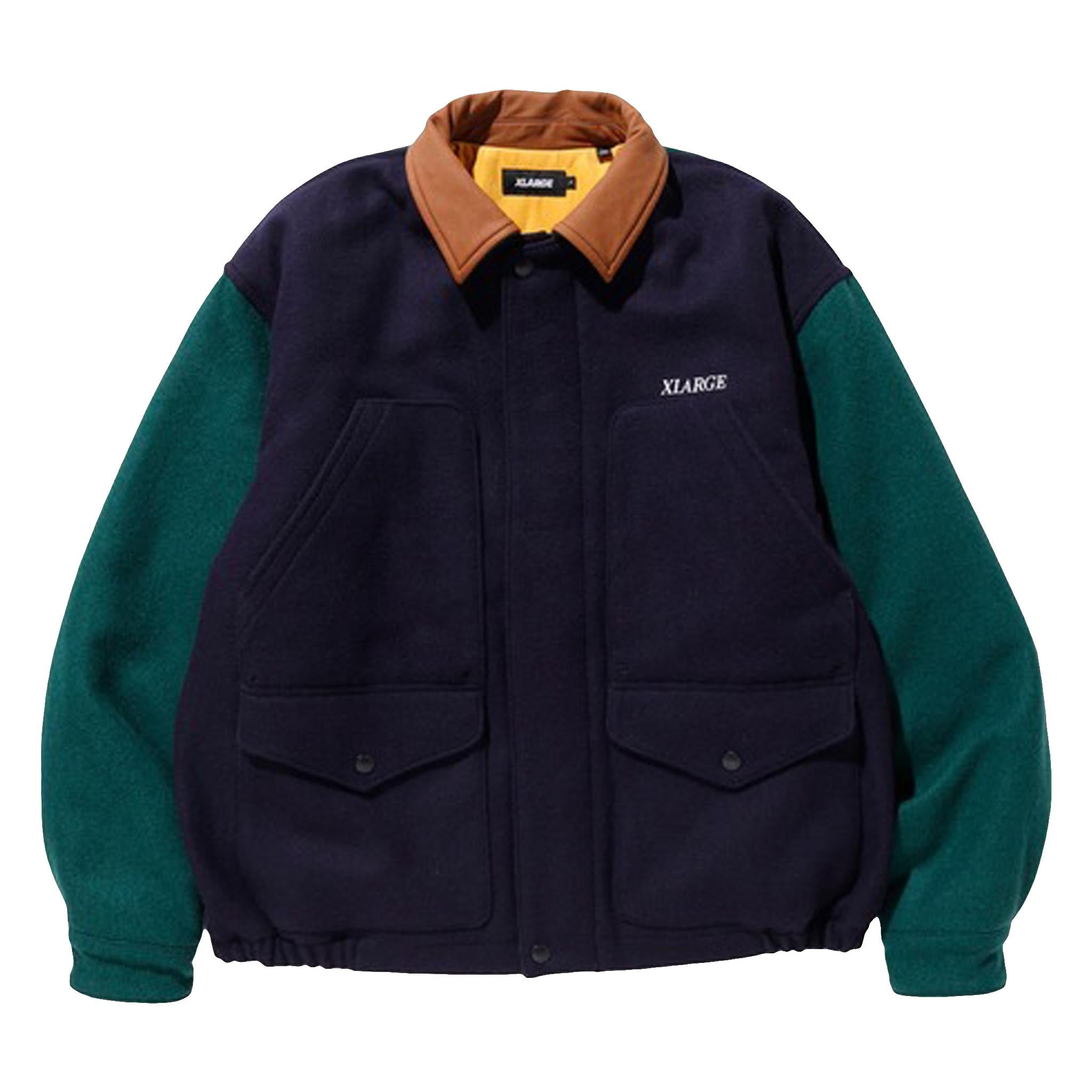 XLARGE Wool Work Jacket Navy