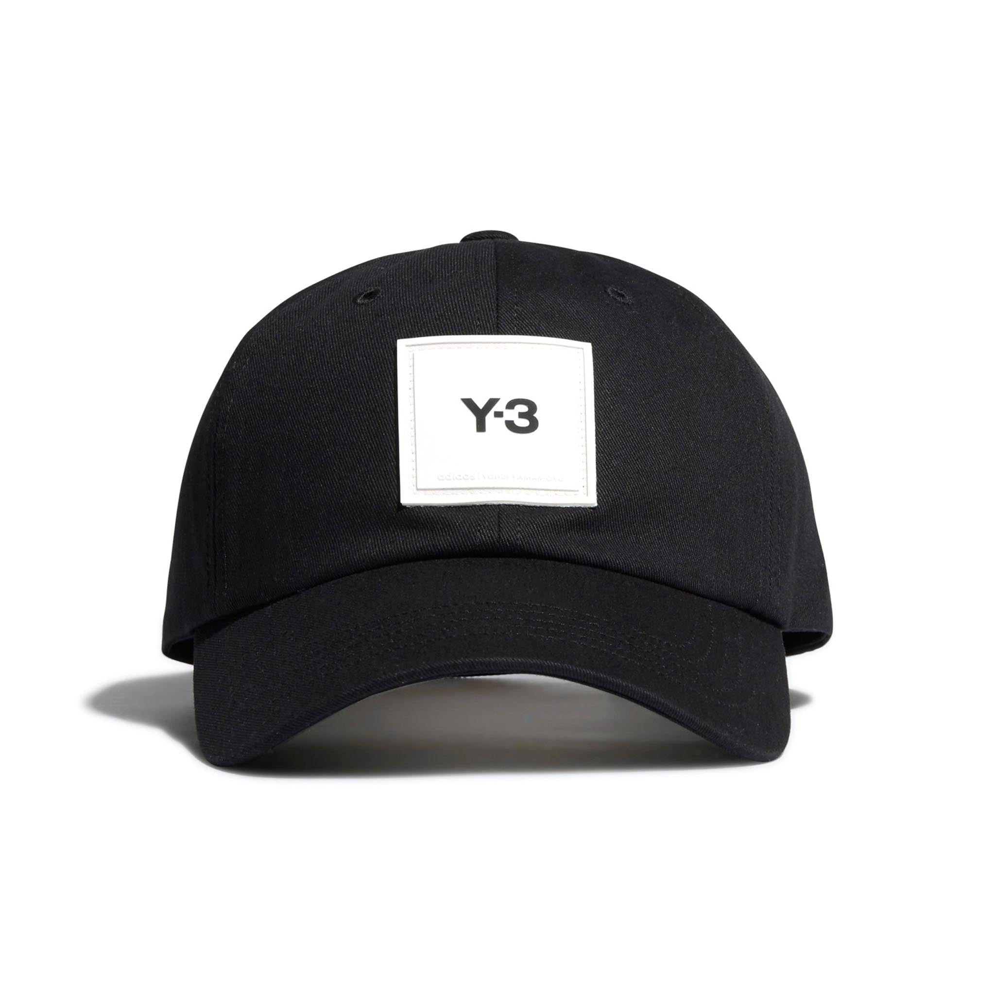 ADIDAS Y-3 Square Label Cap Black