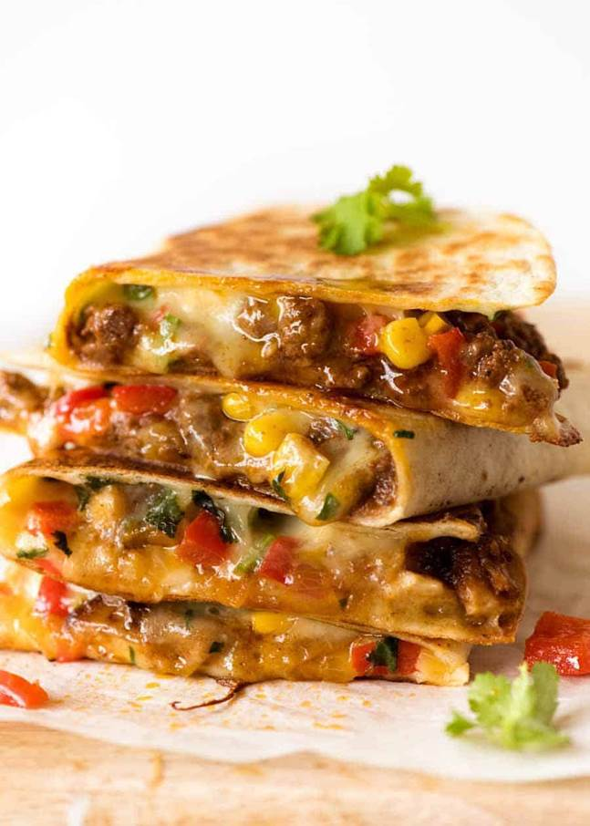 Authentic Mexican Chicken Quesadilla