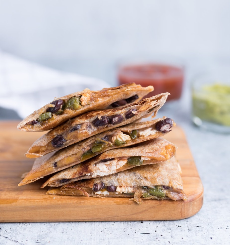 Japanese Quesadillas