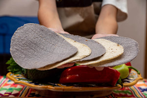 Tortillas - Blue Corn Organic Casera 14cm 10 Pack