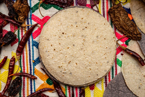 Tortillas - Light Flavour White Corn 14cm 10Pack - El Cielo