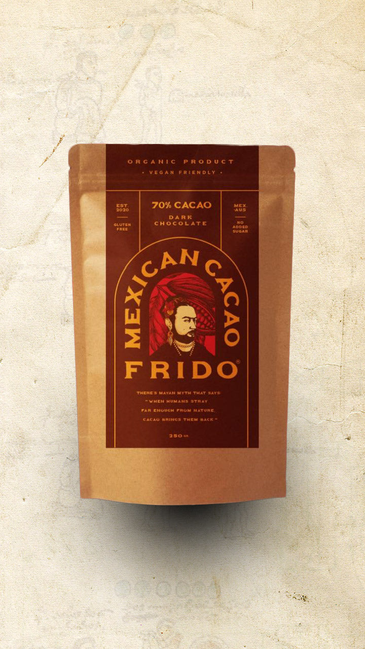 Frido - Single Origin Dark Mexican Cacao (70%) - 250g - El Cielo