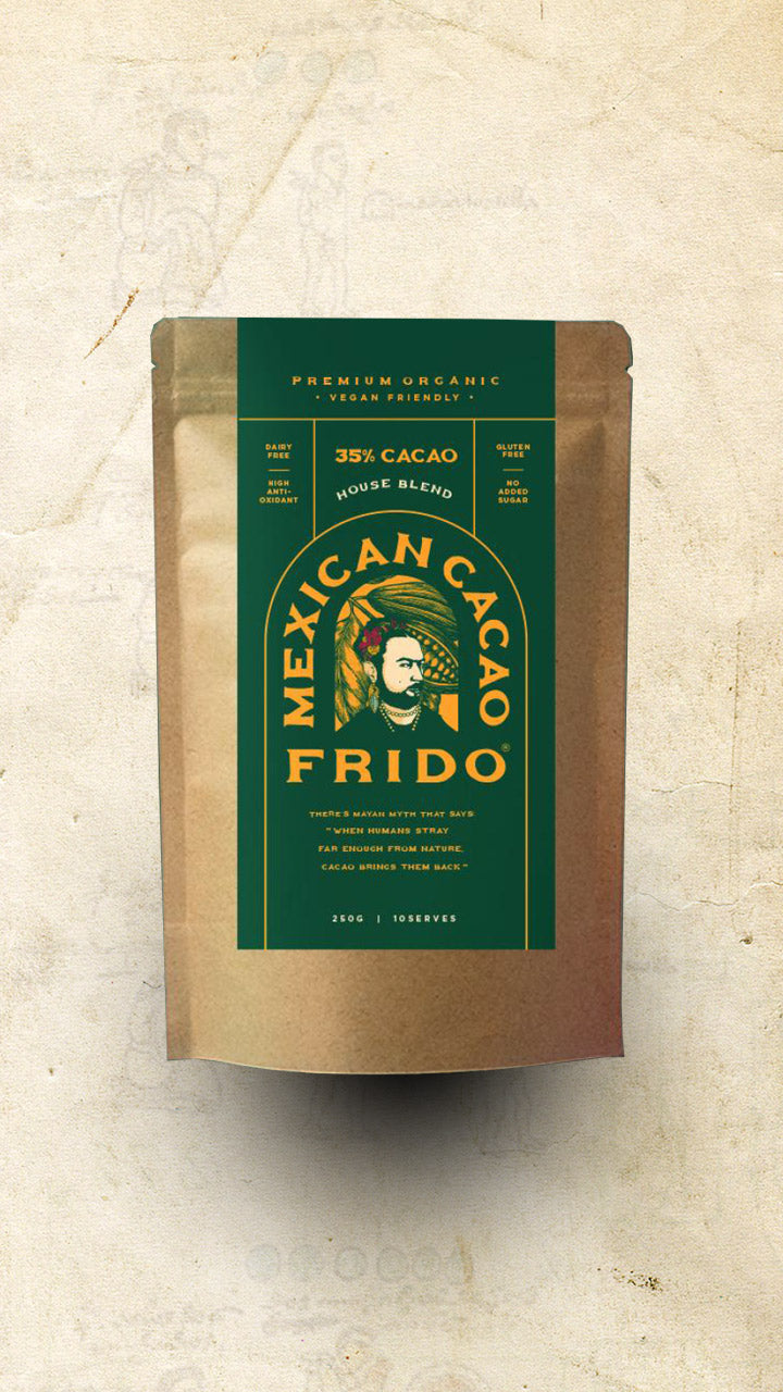 Frido - Mexican Chocolate (35%) - 250g - El Cielo