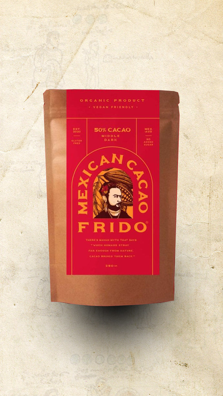 Frido - Single Origin Middle Dark Mexican Cacao (50%) - 250g - El Cielo