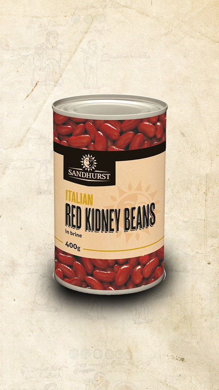 Tin of Mexican red kidney beans sold online via El Cielo