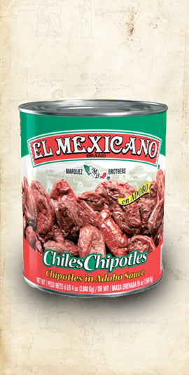 Chipotles in Adobo 2.8kg (Wholesale) - El Cielo