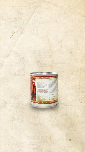Back of a tin of El Cielo Mexican chiles chipotles