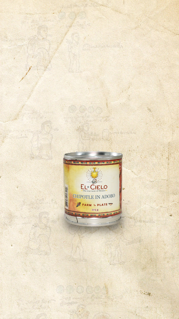 Tin of El Cielo Mexican chiles chipotles