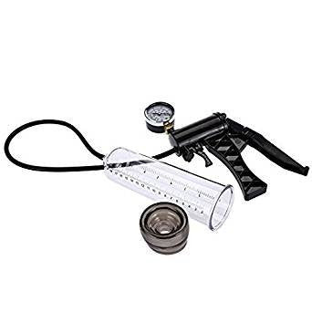 Advanced Precision Pistol-Grip Pressure Gauge Penis Pump
