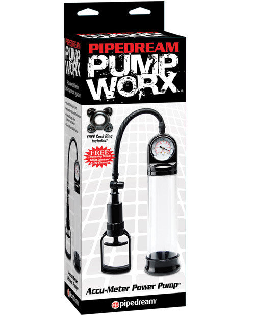 Pump Worx Accu-Meter Power Penis Pump