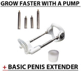 Beginner's Pump Worx Penis Pump & Basic Penis Extender Kit