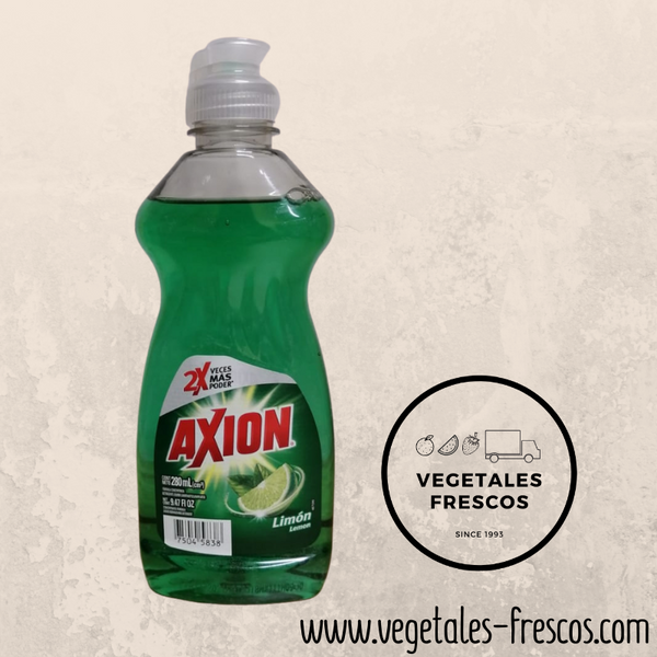Detergente líquido Axion Limon 280ML