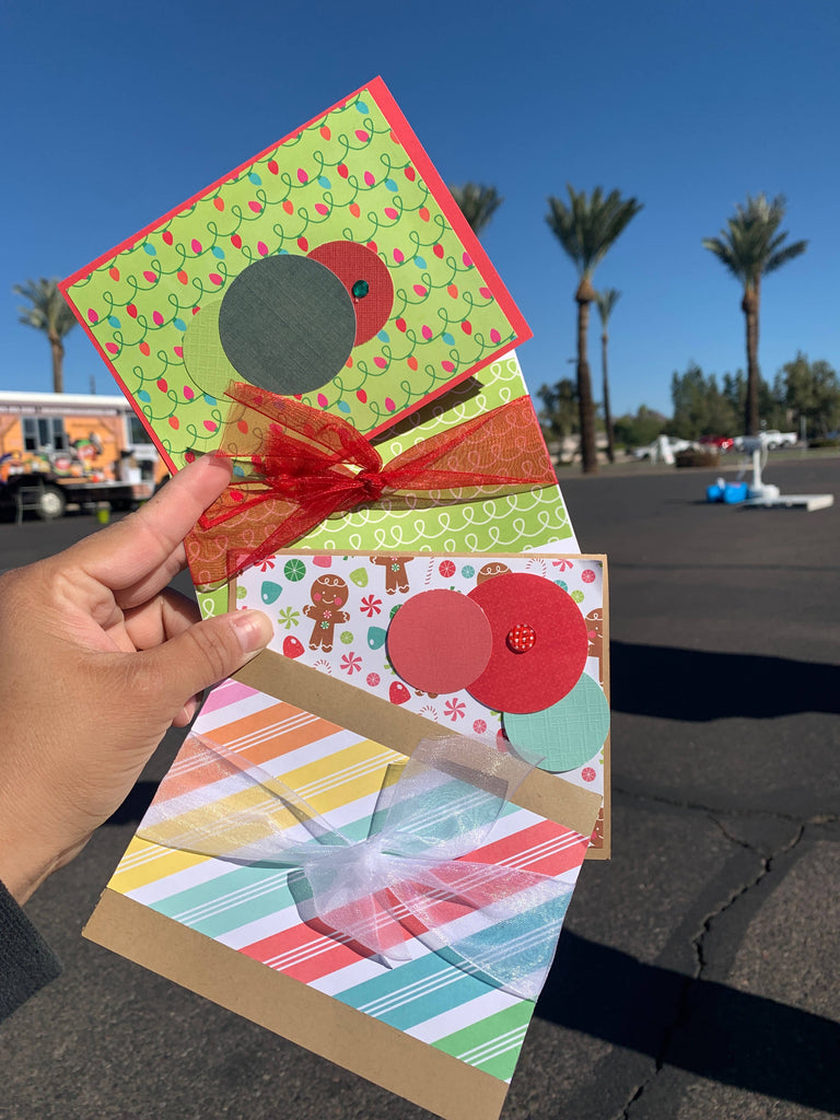 Handmade Cards with a Personalized Message