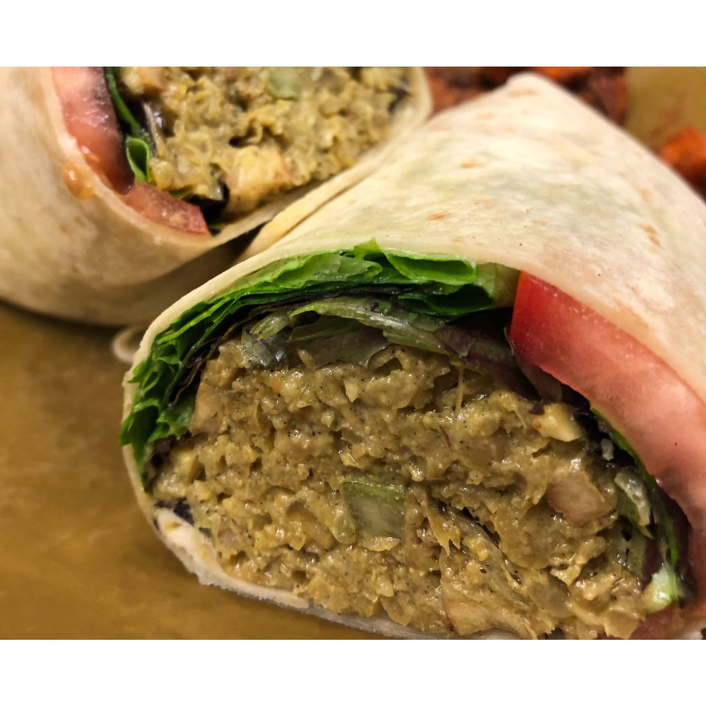 Curry Chickpea Wrap