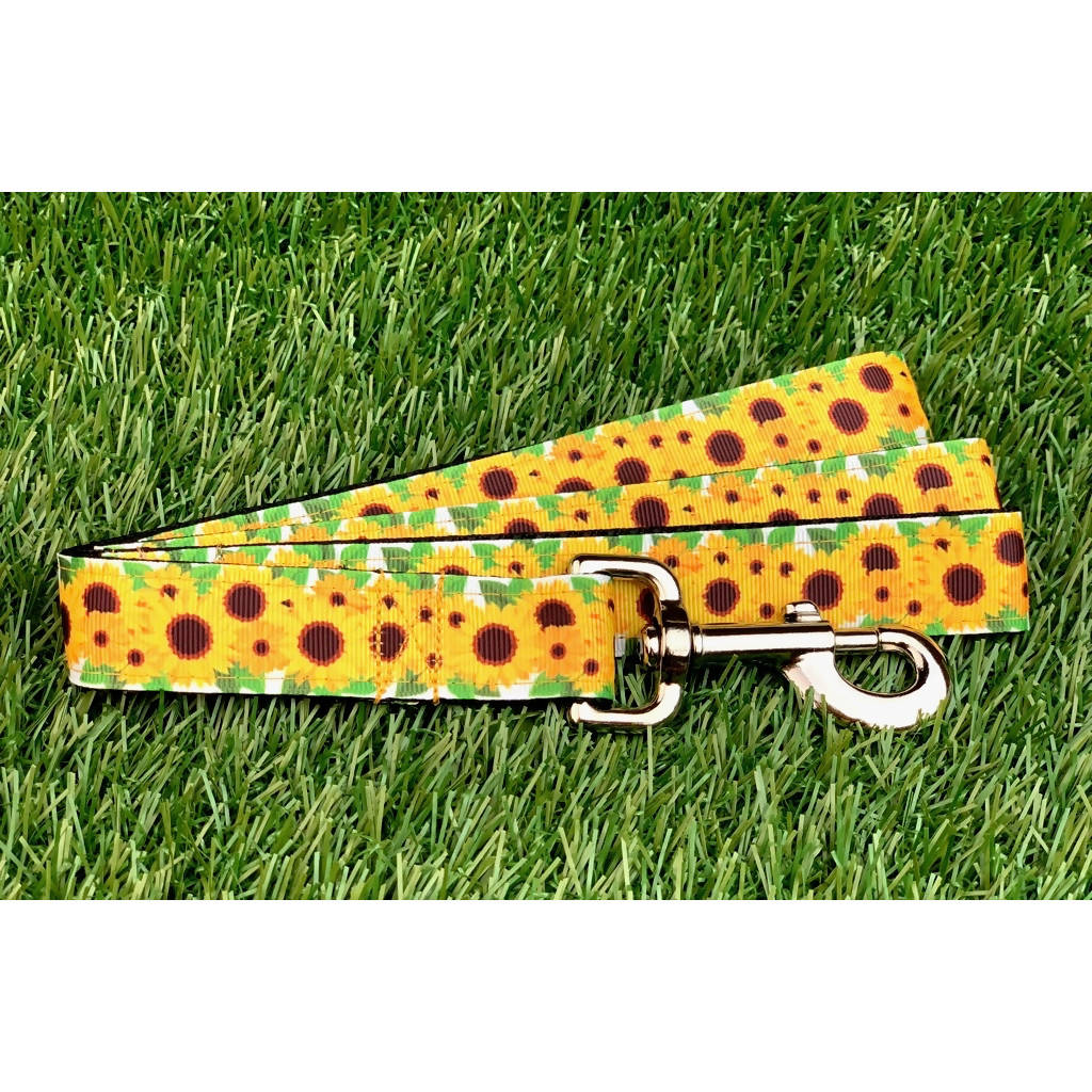 Sunflower Dog Leash