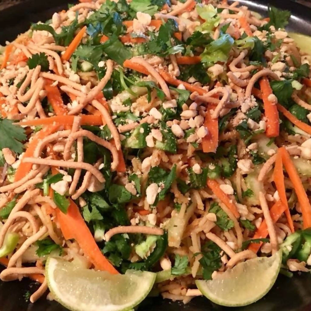 Vegan Pad Thai Salad