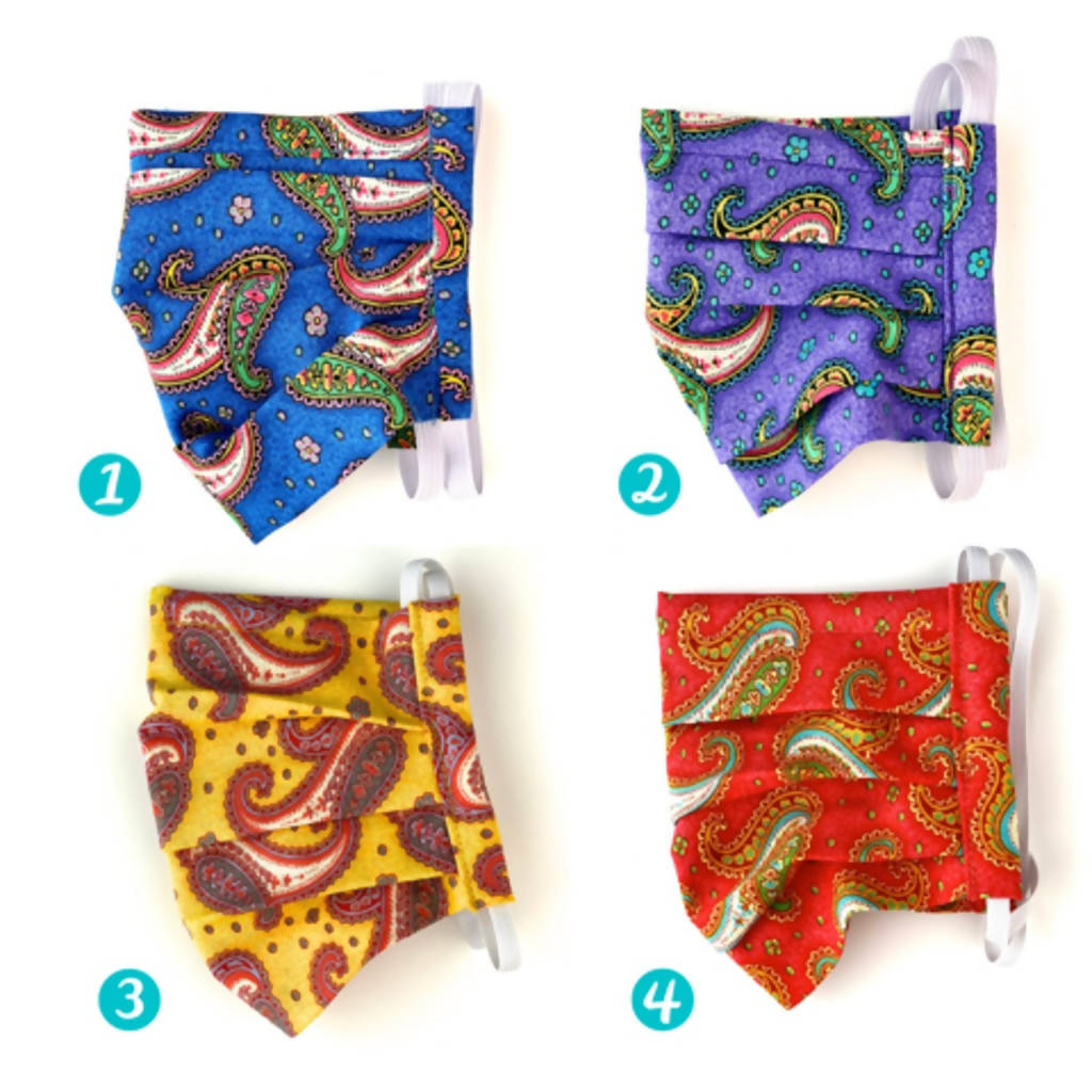 Paisley Face Mask Collection