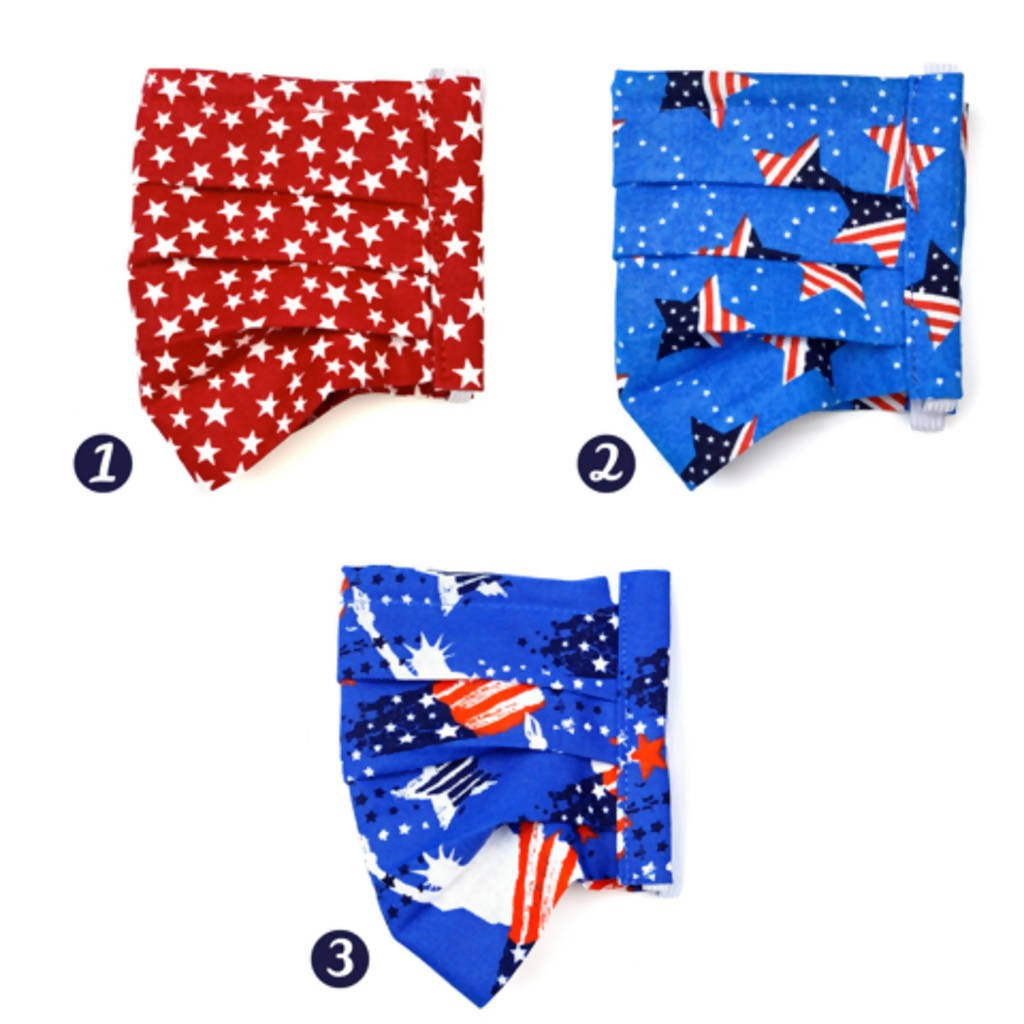 Patriotic Face Mask Collection