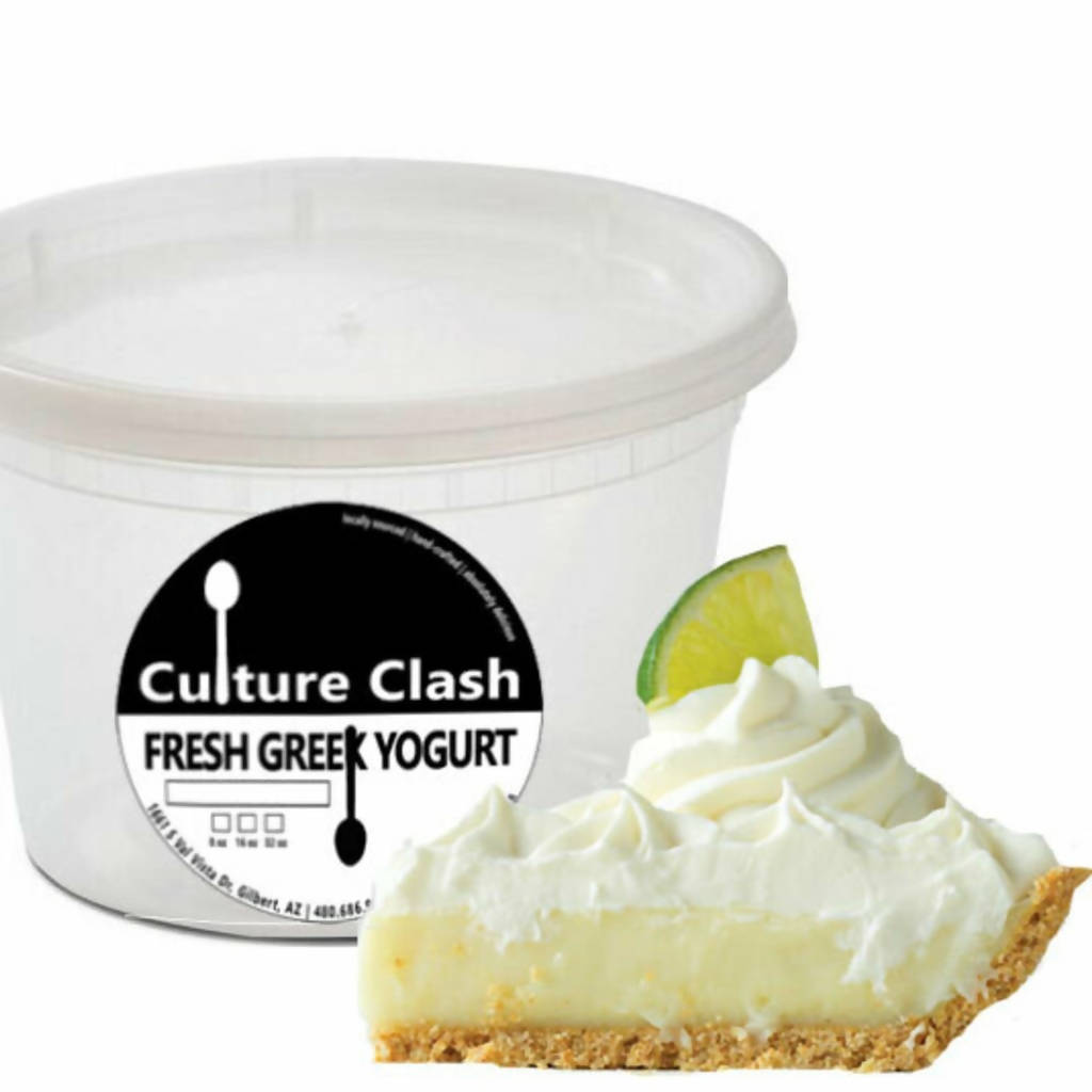 Key Lime Pie Greek Yogurt