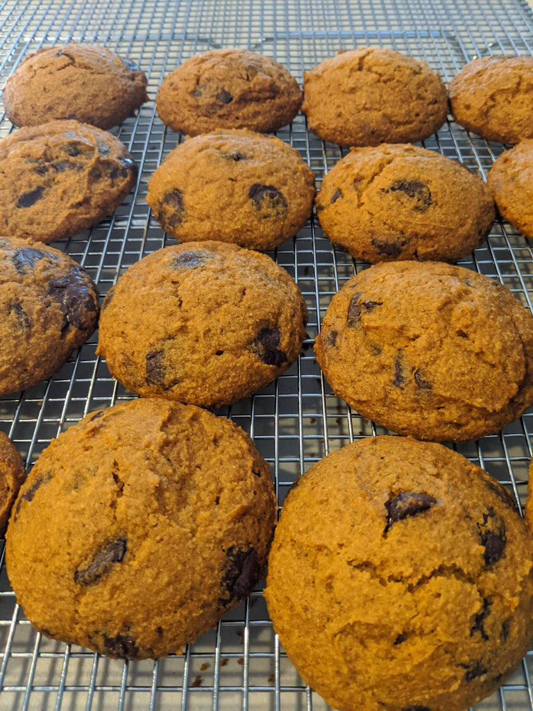 Pumpkin/Chocolate Chip Cookies (Half Dozen)