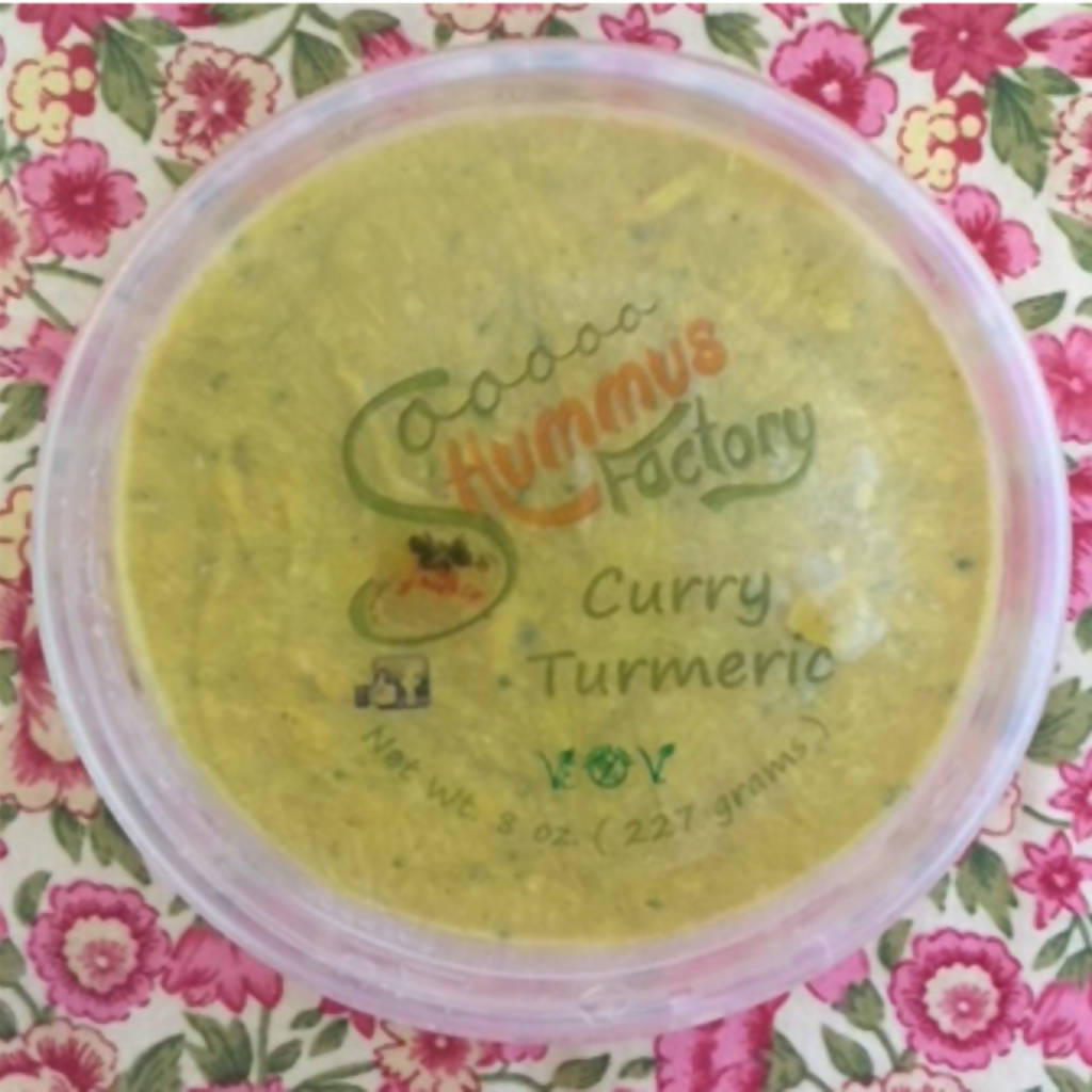 Curry-Turmeric Hummus