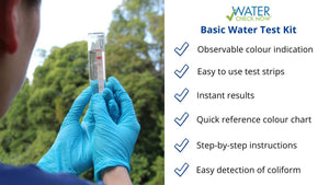 Water Check Now Basic Water Test Kit