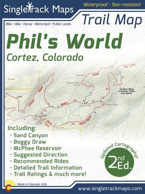 Phil's World Trail Map