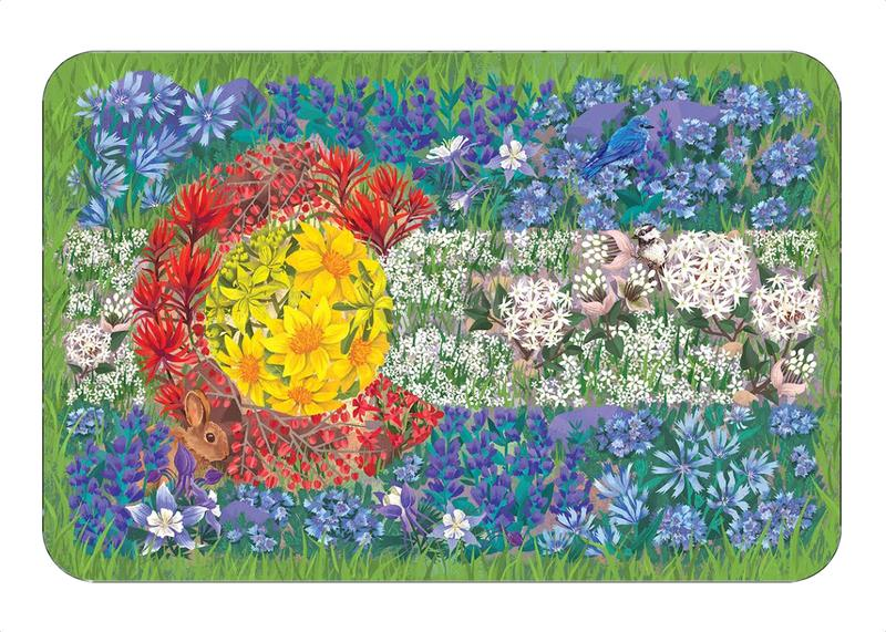 Colorado Wildflower Flag