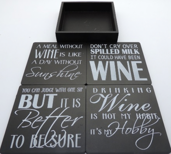 Beer and Wine Coasters