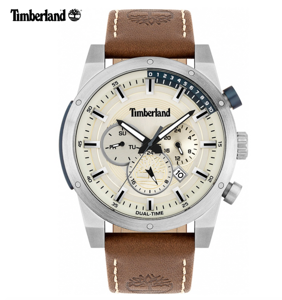 Timberland Sherbrook Brown/Silver Watch