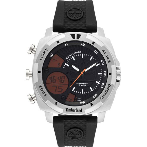 Timberland Hinsdale Black/Silver Watch