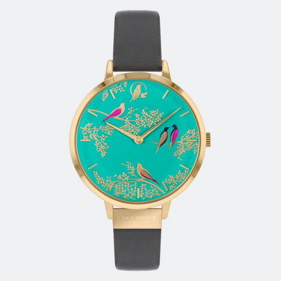 Sara Miller London Green Birds Watch