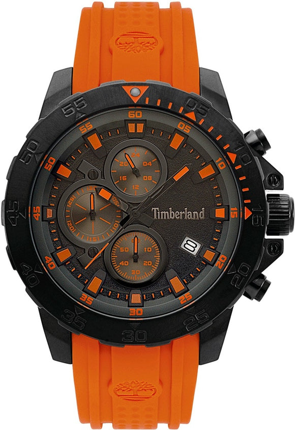 Timberland Westerdale Orange Chronograph Watch