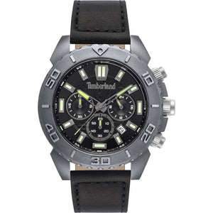 Timberland Barnstead Black Chronograph Watch