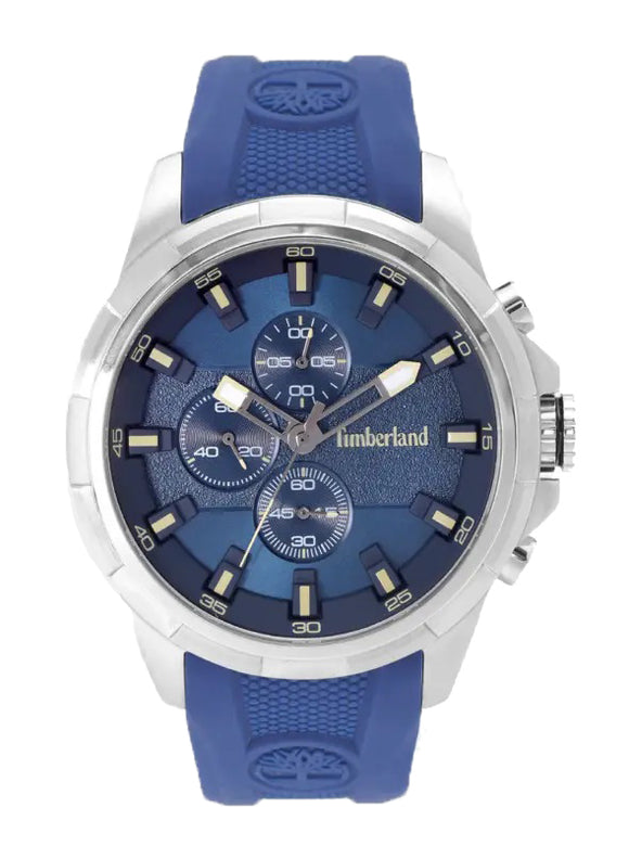 Timberland Boxford Blue Chronograph Watch