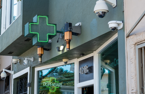 A legal cannabis dispensary where you can find various Delta-8-THC products.