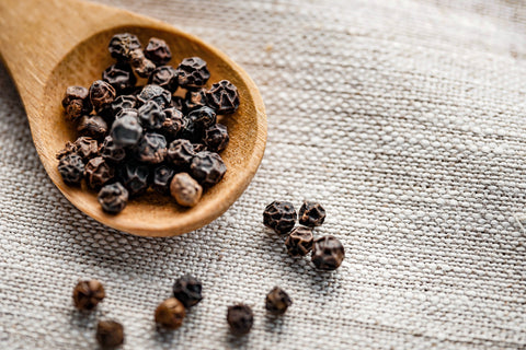 Whole peppercorns used to boost CBD absorption