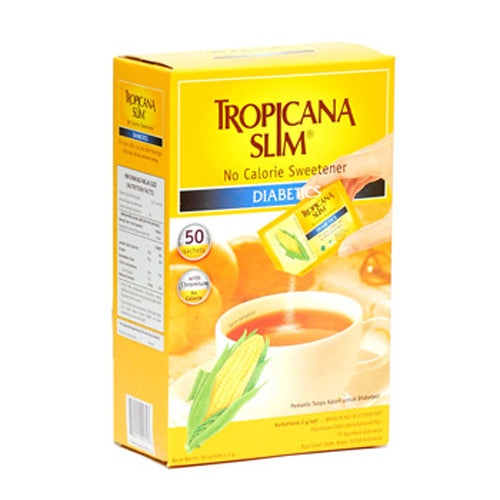 Tropicana Slim Sweetener Diabetics 50 pcs - Tuquh