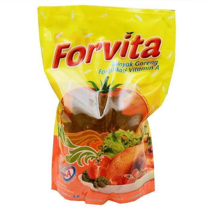 Minyak Goreng Forvita 1800ml Pouch - Tuquh