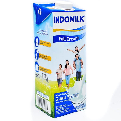 Indomilk Susu UHT 1000ml Full Cream - Tuquh