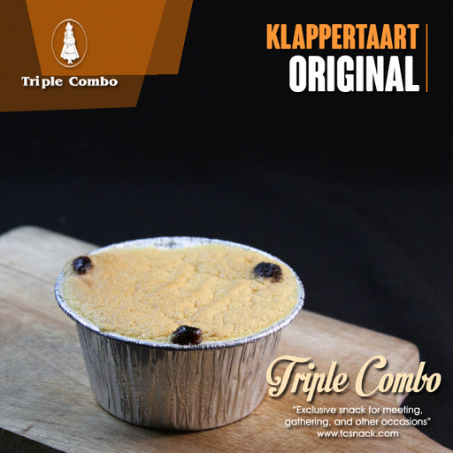Klappertaart Original Reguler 125 ml TC-A001 R - Tuquh