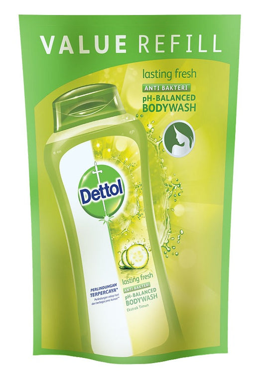 Dettol Body Wash Lasting Fresh Refill 410ml - Tuquh