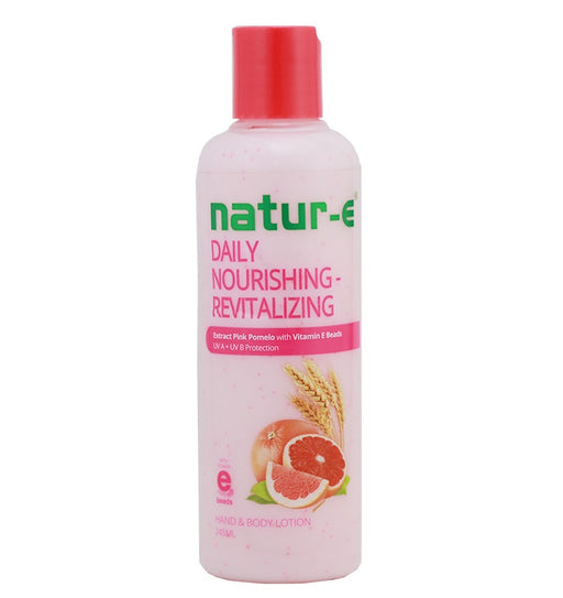 Natur-E Hand Body Lotion Daily Nourishing - Revitalizing 245ml - Tuquh