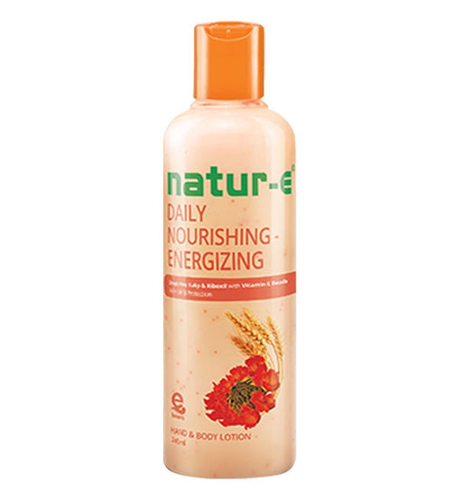 Natur-E Hand Body Lotion Daily Nourishing - Energizing 245ml - Tuquh