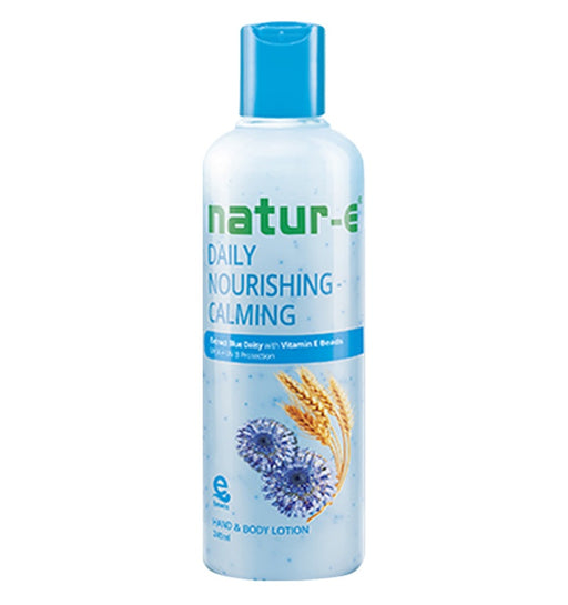 Natur-E Hand Body Lotion Daily Nourishing - Calming 245ml - Tuquh