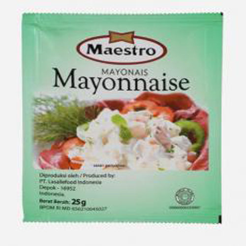 Maestro Mayonnaise 25 gr - Tuquh