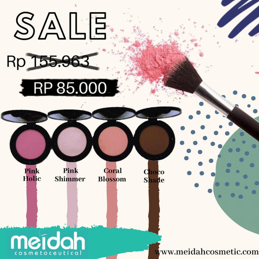 Meidah 2 in 1 Blush On 'n Eyeshadow Intense Colour Matte - Tuquh